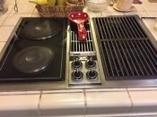 Jenn Air C221 Complete Cooktop Sealed Electric Burners Unit And Parts Works L A