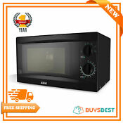 Akai Manual 20 Litre Solo Microwave With 6 Power Levels 800w In Black A24001b