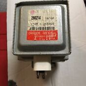 Microwave Thermal Cut Off And Magnetron Lg 2m214 161gp Ge Part Wb27x10927