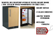 Marvel 15 Built In All Refrigerator Ml15rap2rp 2 Glass Shelves White Interior