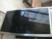 General Electric 36 Stainless Steel Cooktop Drop In 5 Element Model Pp975s0m1ss