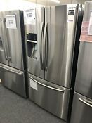 Samsung Rf23hcedbsr 22 5cf French Door Refrigerator Stainless Steel Silver
