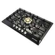 New 30 Stainless Steel 5 Burners Built In Stoves Lpg Natural Gas Cooktop Cooker
