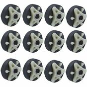 12 Pack 285753a Washer Motor Coupler With Metal Insert For Whirlpool Kenmore M