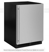Marvel Ml24rip5rp 24 Built In Panel Ready Refrigerator Freezer Ice Maker New