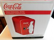 New Coca Cola Retro Personal Mini Fridge Thermoelectric Cooler Koolatron