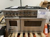 Viking Professional 7 Series Vdr7486gss 48in Pro Style Dual Fuel Range 6 Burners