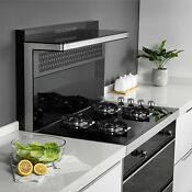 24 Black Tempered Glass 4 Burners Kitchen Stove Gas Hob Lpg Ng Cooktops Cooker