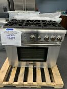 Thermador Prg366 Stainless Steel 36 In Gas Kitchen Ranges