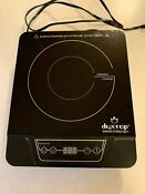 Secura Duxtop 1300w Induction Cooktop Model 7100mc Excellent Condition
