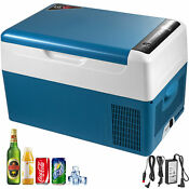 23qt Portable Mini Refrigerator Lg Compressor Freezer Car Vehicular Fresh Blue