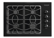 Frigidaire Gallery Fggc3045kb 30 Black 4 Burner Gas Cooktop New