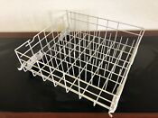 Whirlpool Dishwasher Lower Bottom Dishrack W Roller 8539225 W10161215 8268645