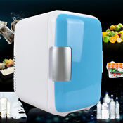 4l Mini Car Home 12v Low Consumption Refrigerator Multi Function Cooler