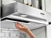 Whirlpool 30 In Under Cabinet Range Hood In Stainless Steel