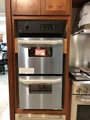 Ge Jrp28skss 24 Stainless Double Electric Wall Oven Nob