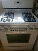 White Whirlpool 30 Inch Self Cleaning Freestanding Gas Range Wfg361lvq