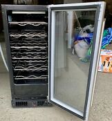 Marvel 15 Inch 2 7 Cu Ft 24 Bottles Pr Single Zone Wine Refrigerator Ml15wsf3rp