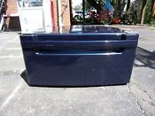 One 1 Lg Wdp3n G 27 Washer Dryer Pedestal Navy Lg With Hardware