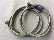 Stainless Steel Washing Machine Hose Set Top Quality Plumbest Brand Hot