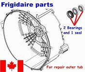 Front Load Washer 2 Tub Bearings And Seal Frigidaire Beaumark