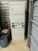 Whirlpool Csp2860tq White Commercial Electric Stacked Dryers New