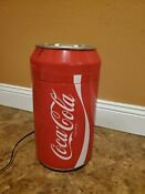 Coca Cola Mini Refrigerator Cooler Ac 110v Or Dc 12v