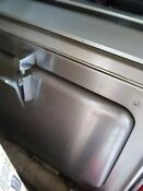 Vintage Chambers Stainless Steel Wall Oven Mid Century Gas