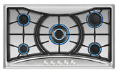Empava 36 Inch Gas Stove Cooktop 5 Italy Sabaf Burners Stainless Steel 36gc202
