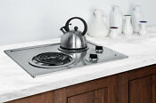 Summit Cr2b122 Electric Cooktop 2 Burner Coil Stainless Steel 120 Volt Built In