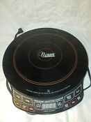 Nuwave Precision Induction Cooktop 1300 Watts 6 Temperature Settings 30101 Euc