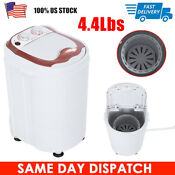 4 4lbs Portable Mini Washing Machine Compact Full Automatic Laundry Washer Us