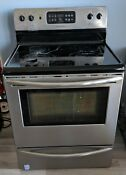 Used Frigidaire Stove Microwave Dishwasher And Trash Can