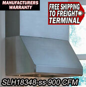 Vent A Hood Slh18348 Ss 900 Cfm Hood In Stainless Steel 48 Inches Wide