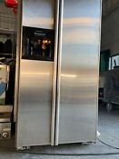 Kitchenaid Built In Side By Side Refrigerator Stainless