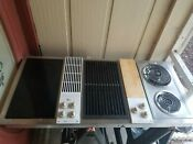 Jenn Air C301 Downddraft 3 Bay Cooktop Griddle Grill New Fryer Gently Used