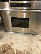 Dacor Ecs136sch 36 Single Electric Wall Oven Stainless Steel Self Cleaning