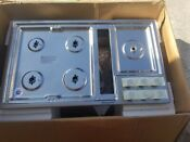 Kitchenaid Kcgd506gss 36 Stainless Gas Downdraft Cooktop