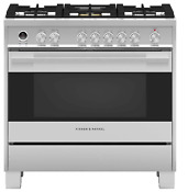 Fisher Paykel Or36sdg6x1 36 Dual Fuel Gas Range Convection Oven Brand New