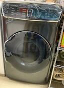 Samsung Dvg60m9900v Black Stainless Front Load Gas Dryer