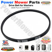 27001007 Washer Drive Belt For Amana Whirlpool 2200062 37820 40053602 40053607