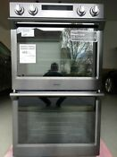 Samsung 30 Stainless Steel Double Electric Dual Convection Oven Nv51k7770dg