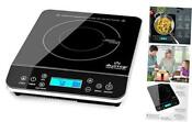 Duxtop Portable Induction Cooktop Countertop Burner Induction Hot Plate Silver