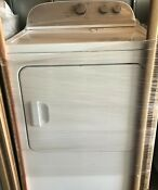 Whirlpool Wed4815ew 7 0 Cu Ft 14 Cycle Electric Dryer White
