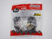 Certified Appliance Electric Dryer 6 Power Cord 4 Wire 90 2024 Brand New