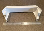 Whirlpool Part 2171157 Side By Side Refrigerator Door Shelf Rail White Kenmore