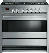Or36sdpwgx1 Fisher And Paykel 36 Self Cleaning Dual Fuel Range Disco In Box