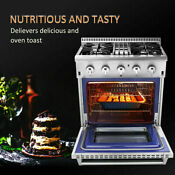 Thro Kitchen 30 Electric Convection Oven Gas Range Dual Fuel Griddle 4 2 Cu Ft