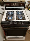 Vintage Caloric Heritage Series 24 Inch Gas Stove Rmd 269 Electronic Ignition