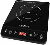 Portable Induction Cooktop Powerful Single Burner Electric Countertop Stove S